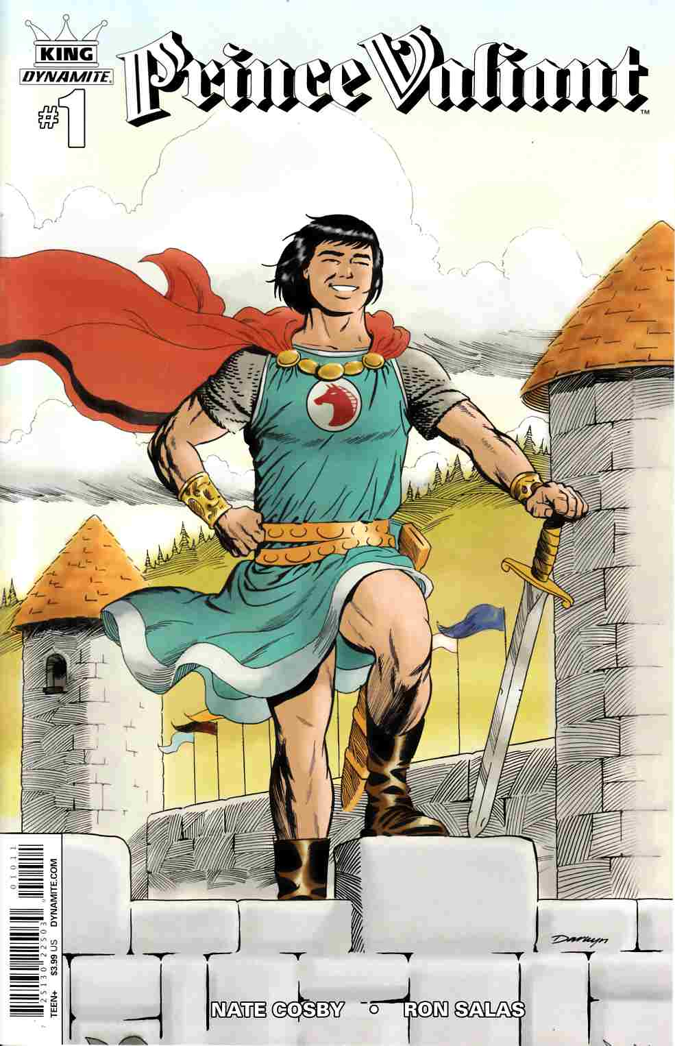 King Prince Valiant #1 [Dynamite Comic]