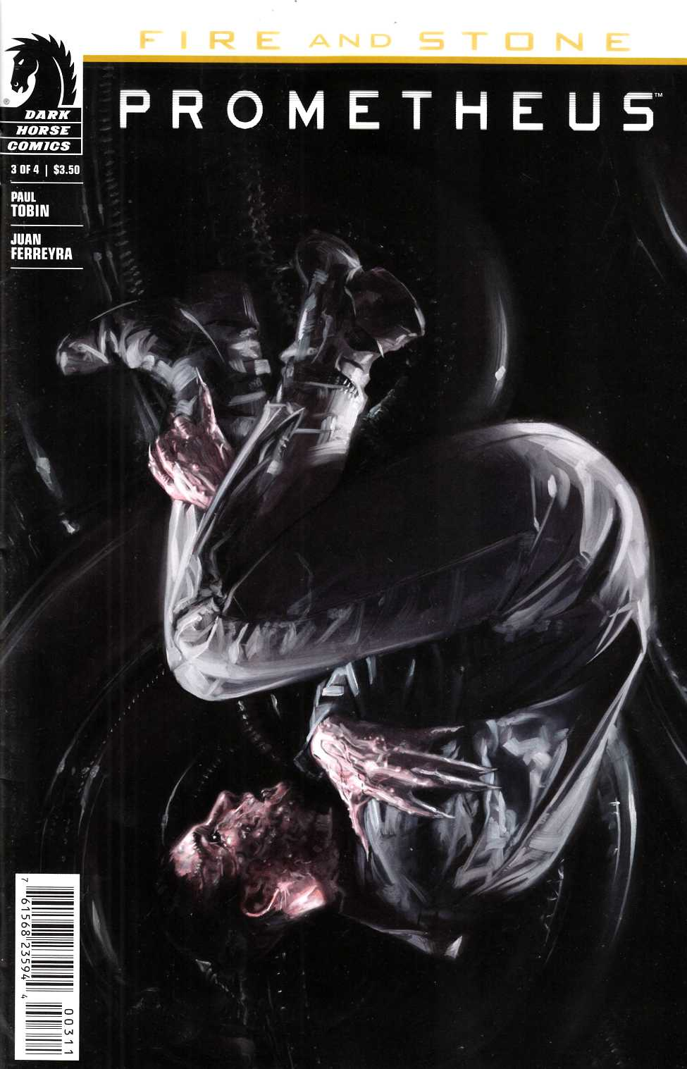 Prometheus Fire and Stone #3 [Dark Horse Comic] THUMBNAIL