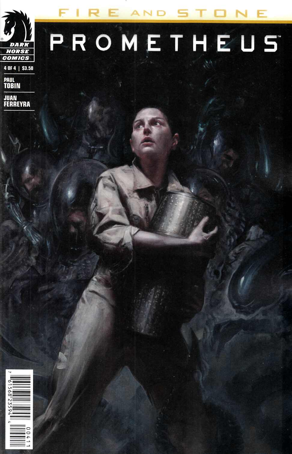 Prometheus Fire and Stone #4 [Dark Horse Comic] THUMBNAIL