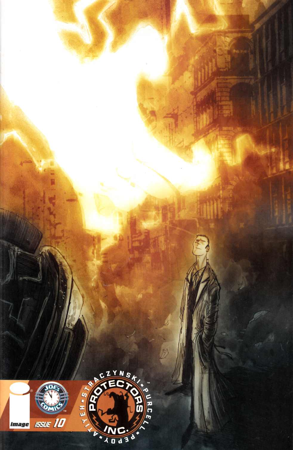 Protectors Inc #10 Cover B- Templesmith [Image Comic] THUMBNAIL