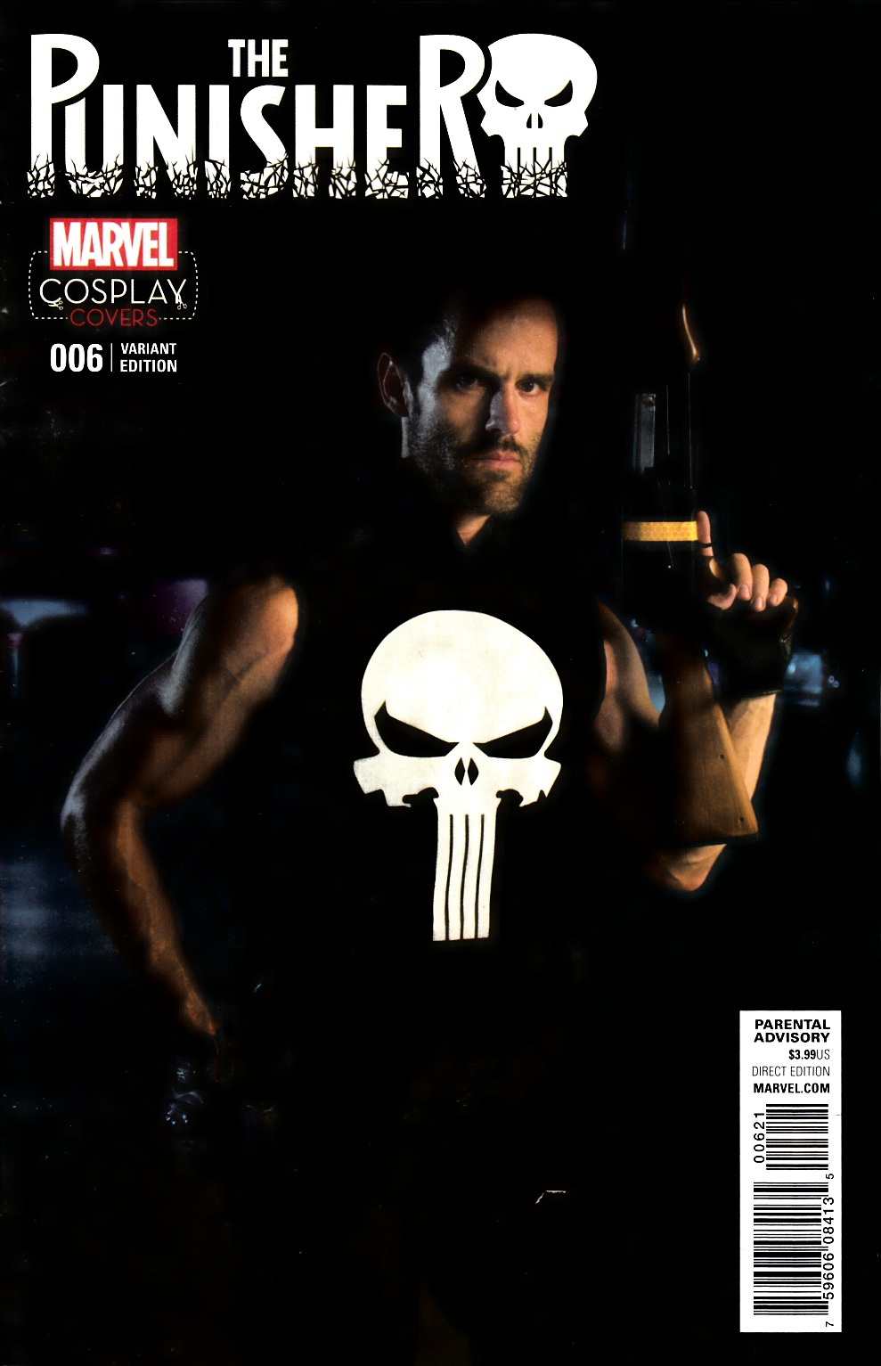 Punisher #6 Cosplay Variant Cover [Marvel Comic] LARGE