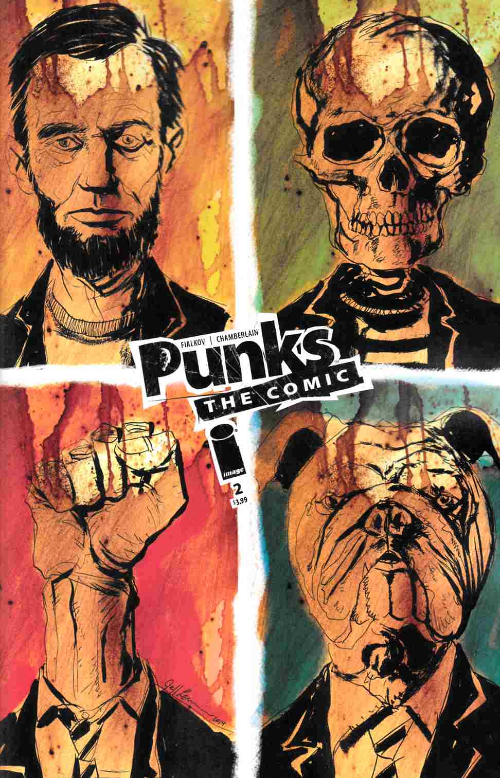 Punks The Comic #2 Cover B- Lemire [Image Comic] THUMBNAIL