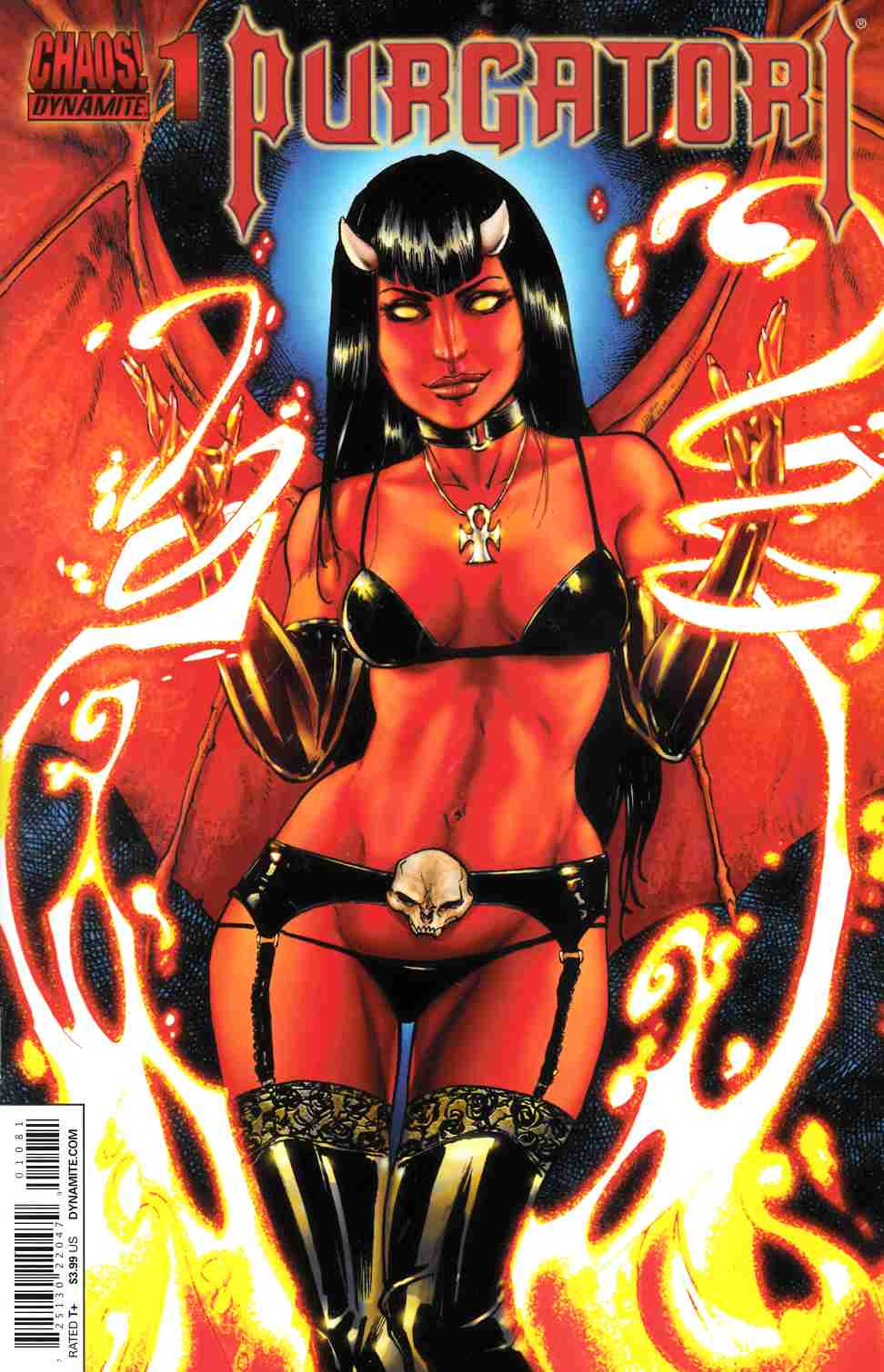 Purgatori #1 Seeley Subscription Cover [Comic] LARGE