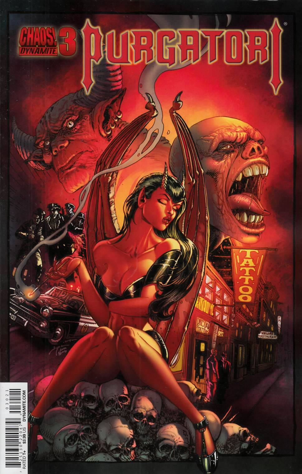 Purgatori #3 Cover B- Chin [Dynamite Comic] LARGE