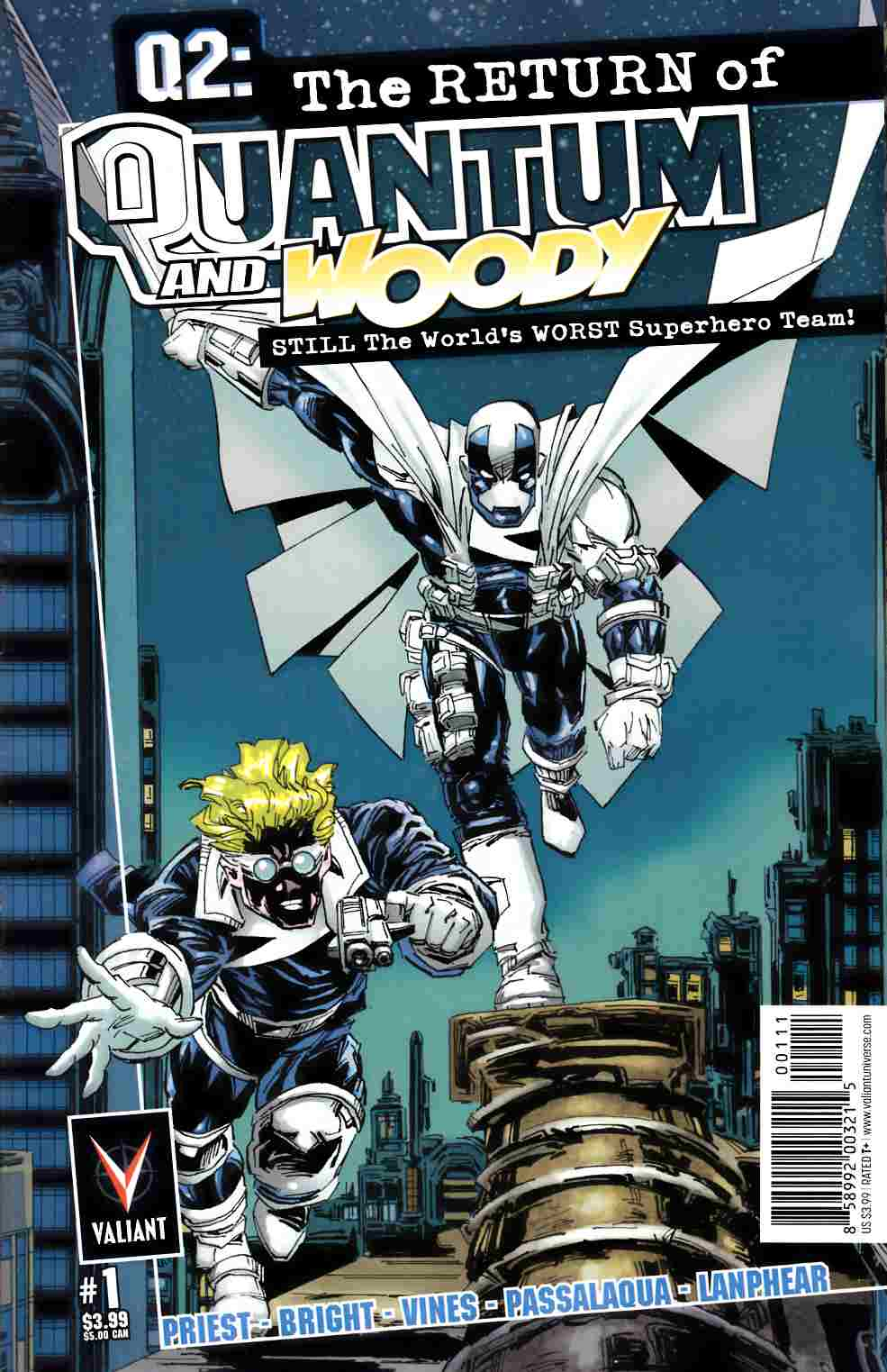 Q2 Return Of Quantum & Woody #1 [Valiant Comic] THUMBNAIL