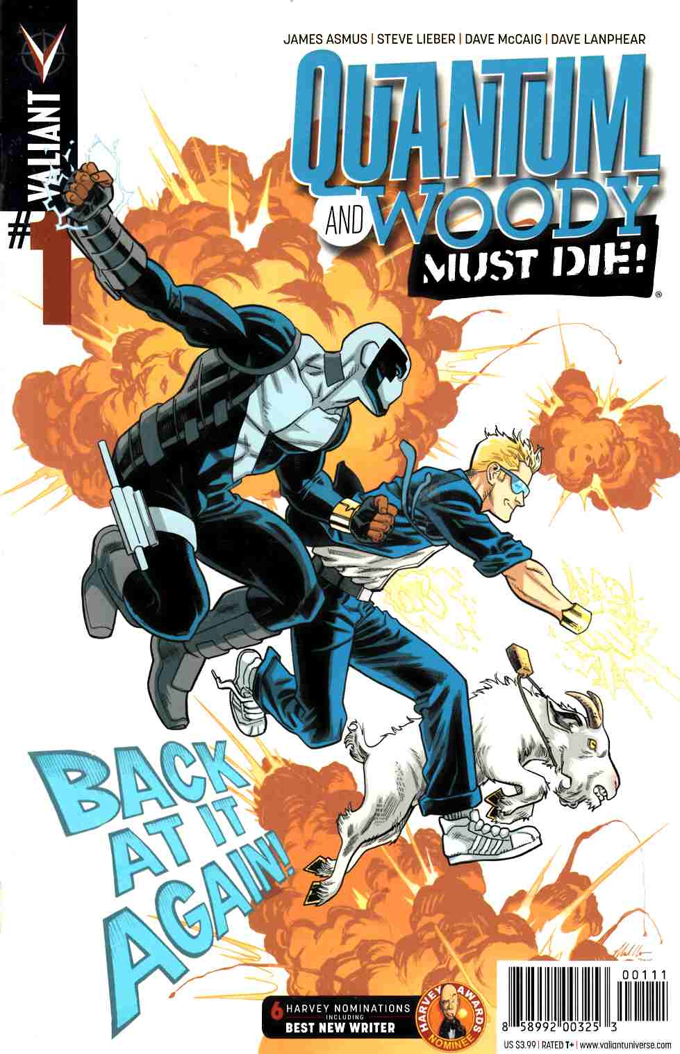 Quantum & Woody Must Die #1 Cover A- Hawthorne [Valiant Comic]_THUMBNAIL
