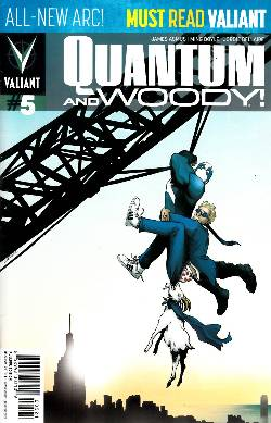 Quantum & Woody #5 Pullbox Variant Cover [Comic] LARGE