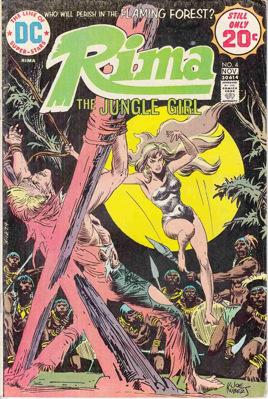 Still Pictures Are All Very Fine And >> Rima The Jungle Girl 4 Fine Very Fine 7 0 Dc Comic