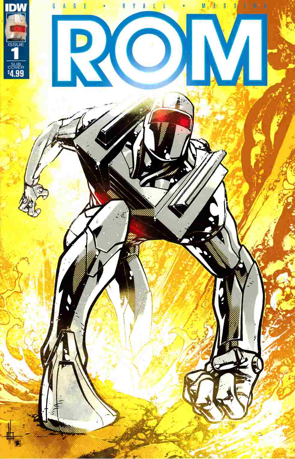 Rom #1 Variant Cover A [IDW Comic] LARGE