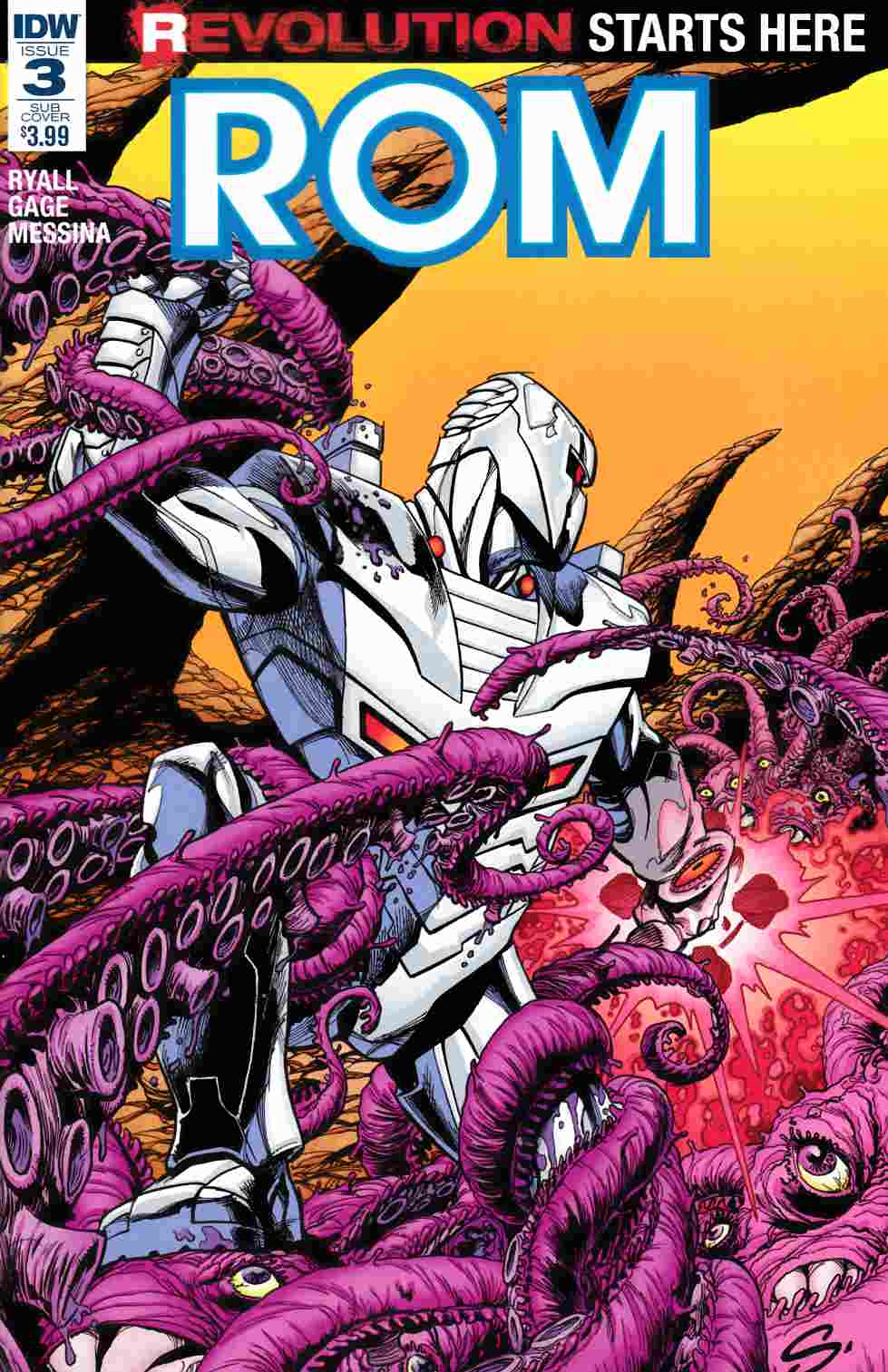 Rom #3 Subscription Cover A [IDW Comic] LARGE