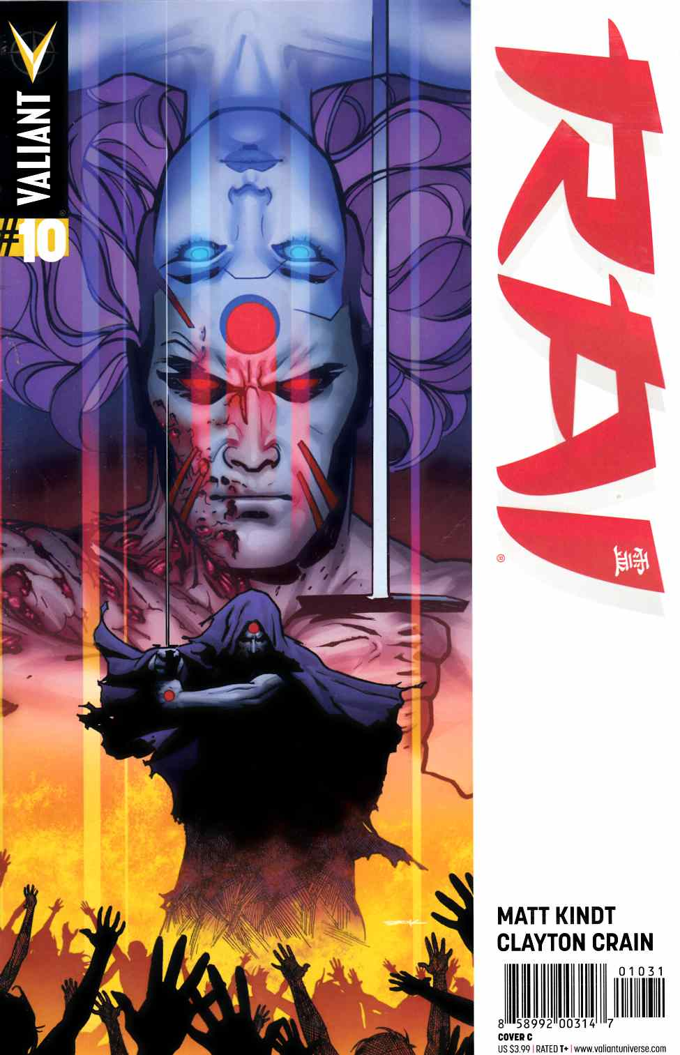 Rai #10 Cover C- Sook [Valiant Comic] THUMBNAIL