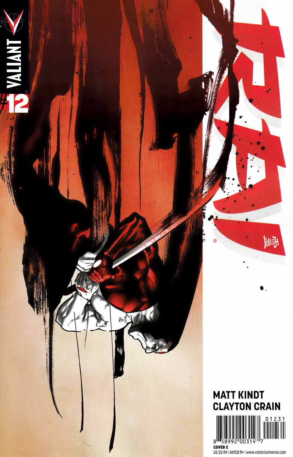 Rai #12 Cover C- Sook [Valiant Comic] THUMBNAIL