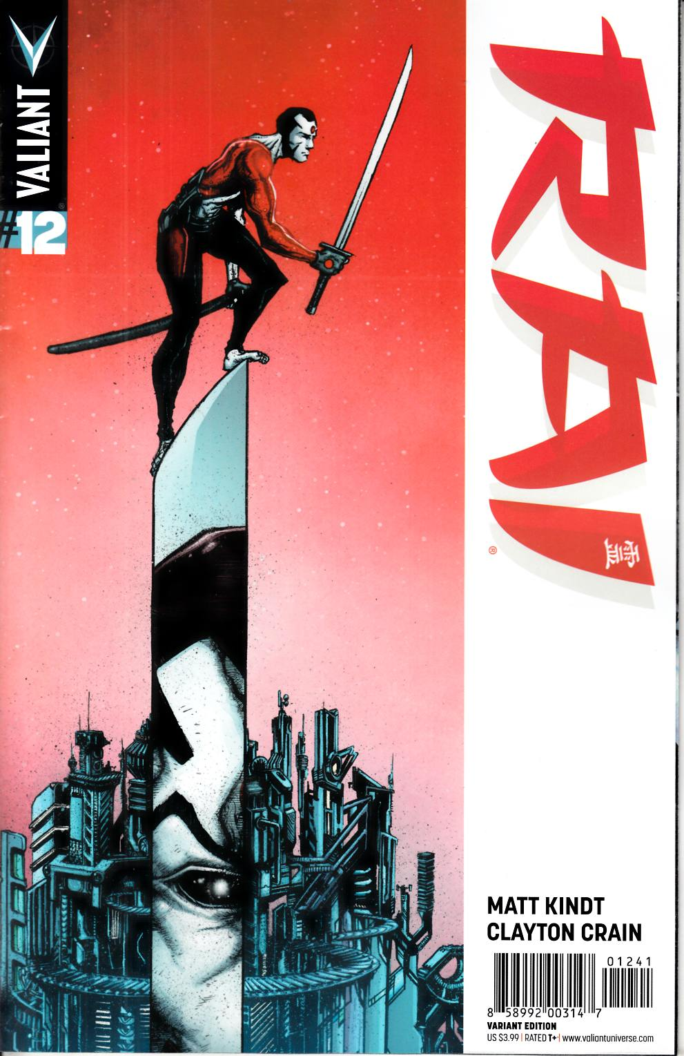 Rai #12 Cover D- Lee [Valiant Comic] THUMBNAIL