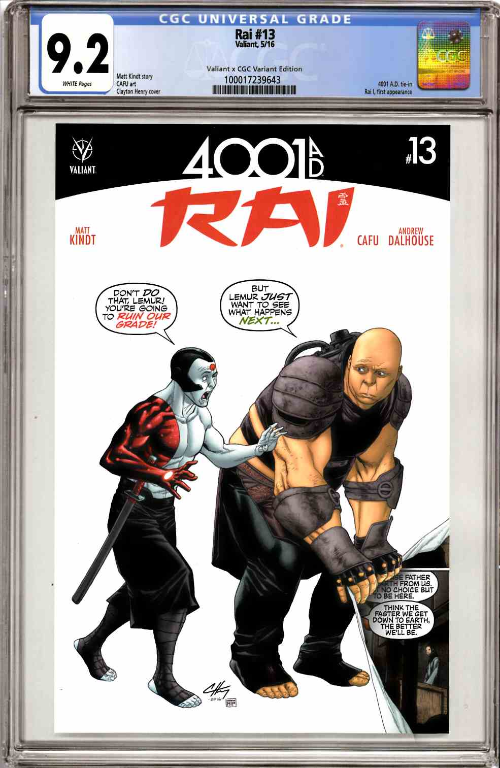 Rai #13 Cover C [Valiant Comic] THUMBNAIL