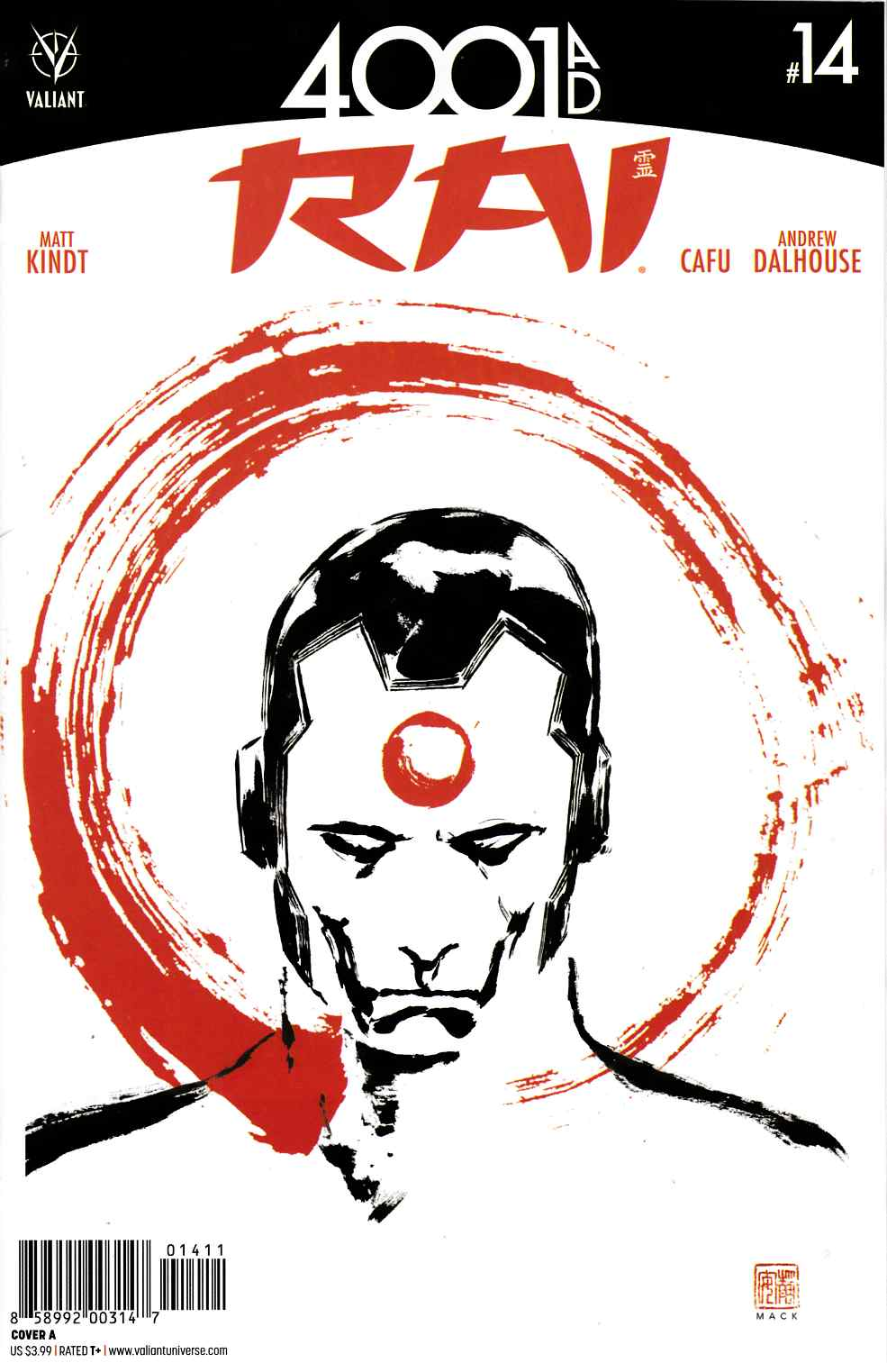 Rai #14 Cover A [Valiant Comic] THUMBNAIL