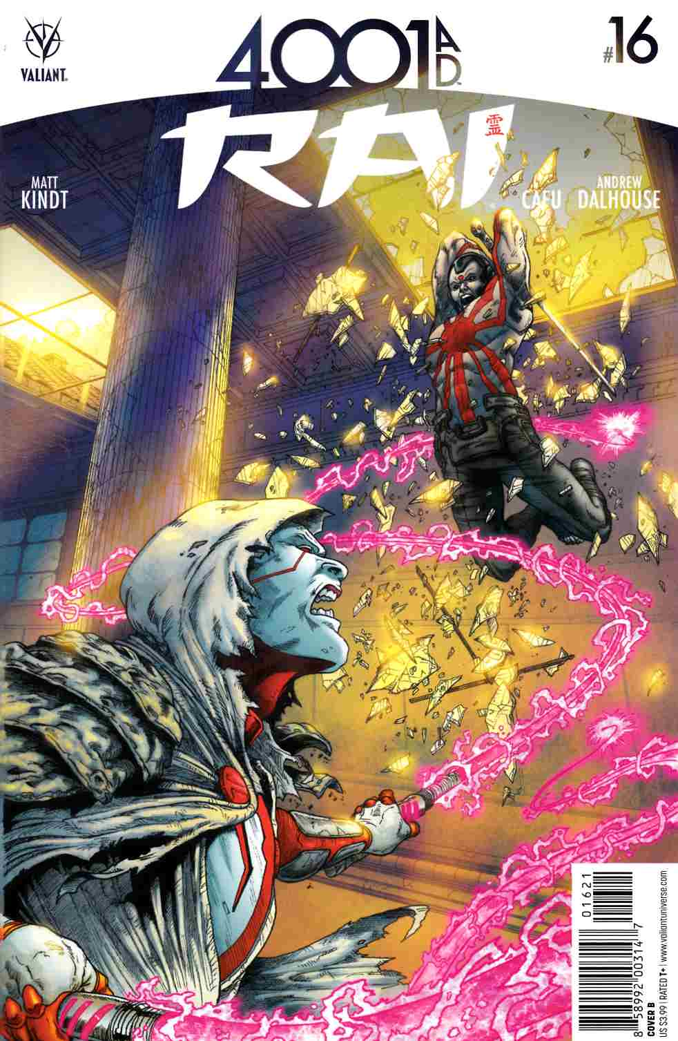 Rai #16 Cover B [Valiant Comic] LARGE