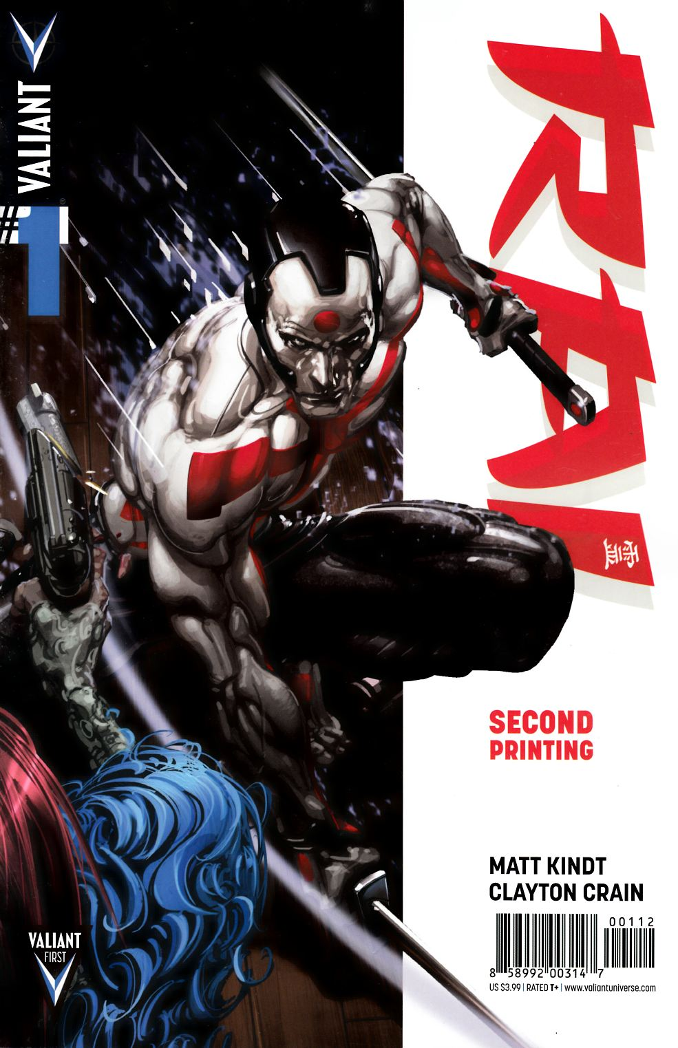 Rai #1 Second Printing [Comic] THUMBNAIL