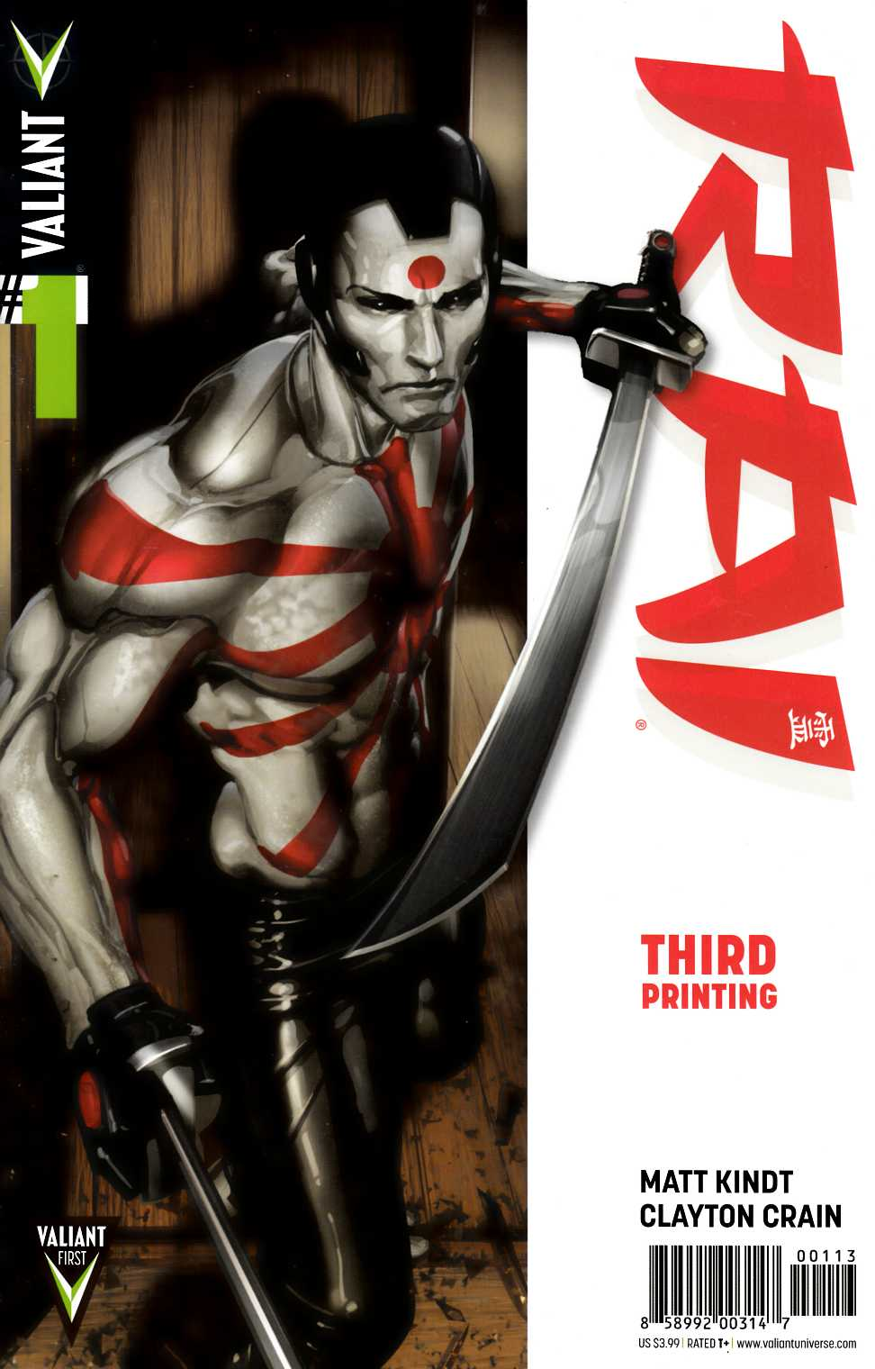 Rai #1 Third Printing [Comic] THUMBNAIL