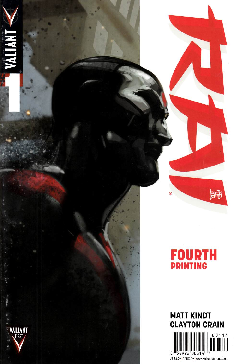 Rai #1 Fourth Printing [Comic] THUMBNAIL