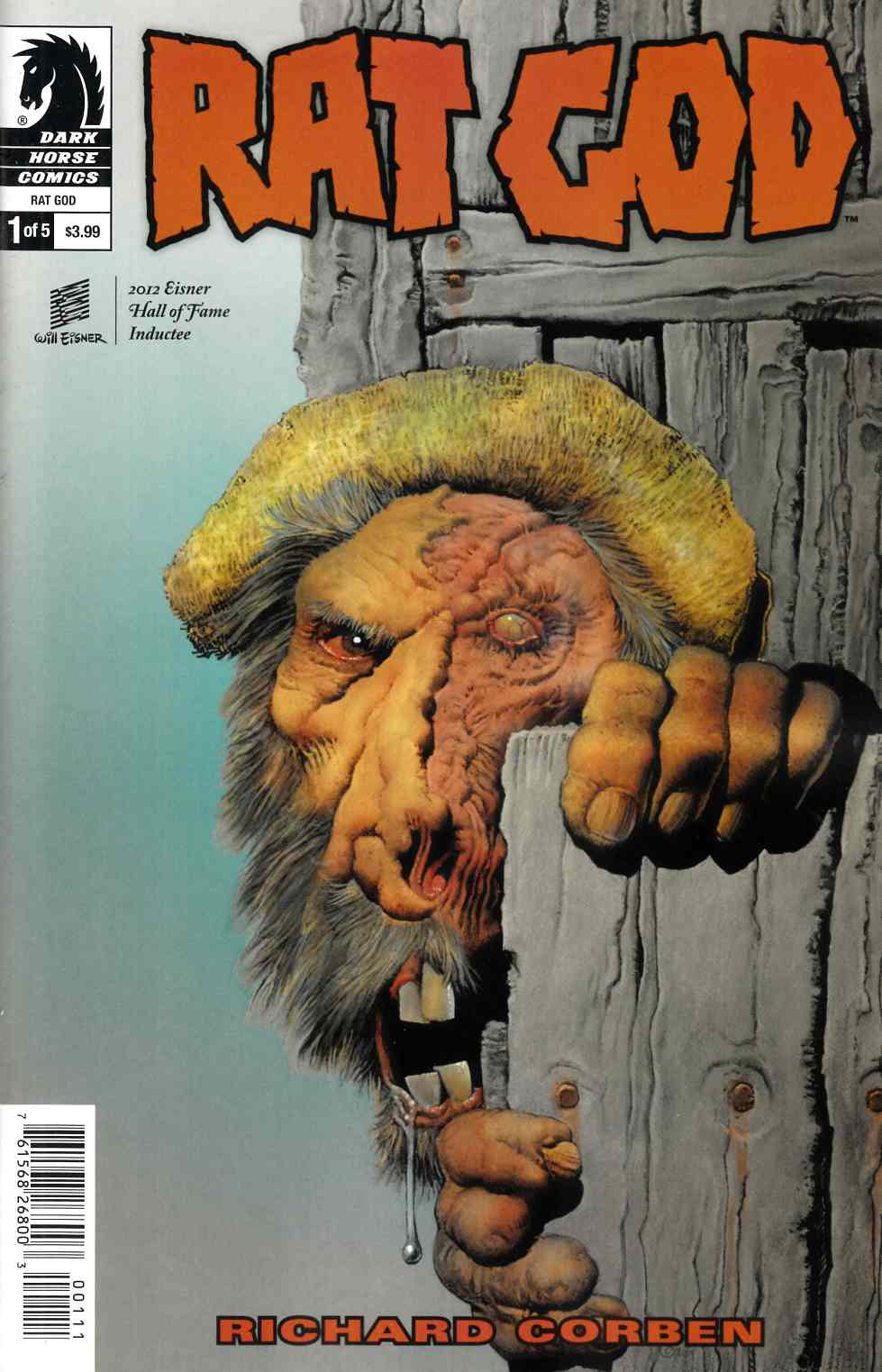 Rat God #1 [Dark Horse Comic] THUMBNAIL