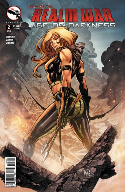 GFT Realm War #2 Cover B- Lashley [Zenescope Comic] LARGE