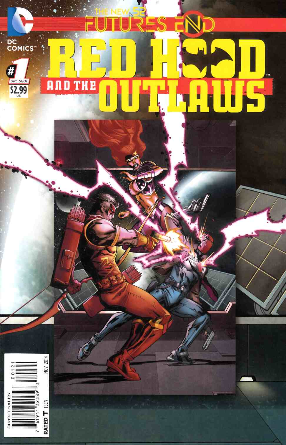 Red Hood and the Outlaws Futures End #1 Standard Edition [DC Comic] THUMBNAIL