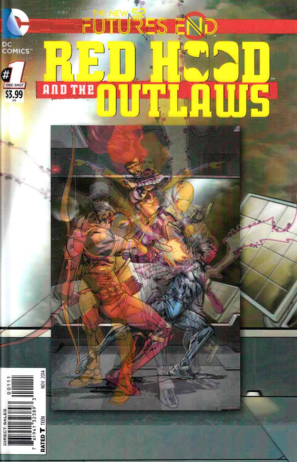 Red Hood and the Outlaws Futures End #1 3D Edition [DC Comic] THUMBNAIL