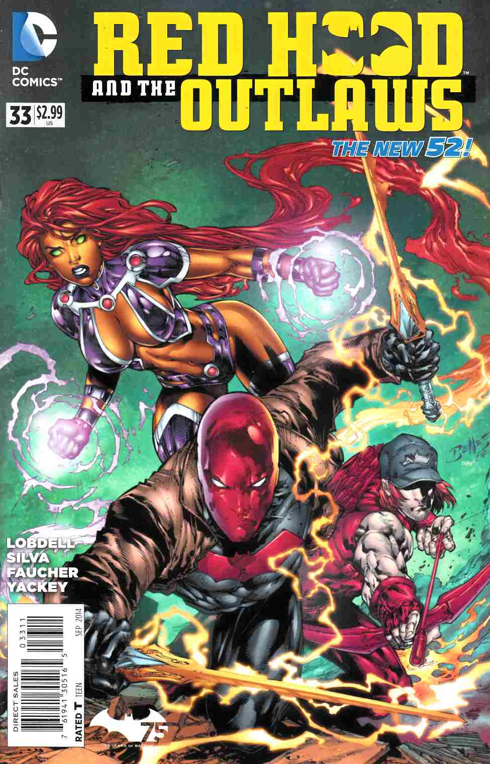 Red Hood and the Outlaws #33 [DC Comic] THUMBNAIL