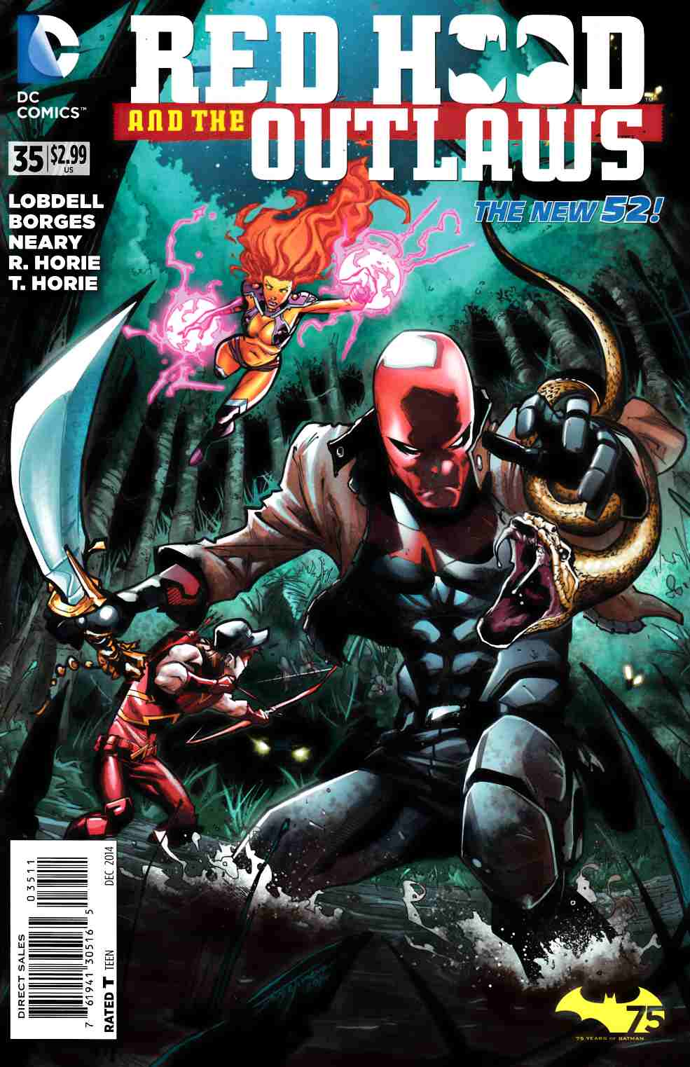 Red Hood and the Outlaws #35 [DC Comic] THUMBNAIL