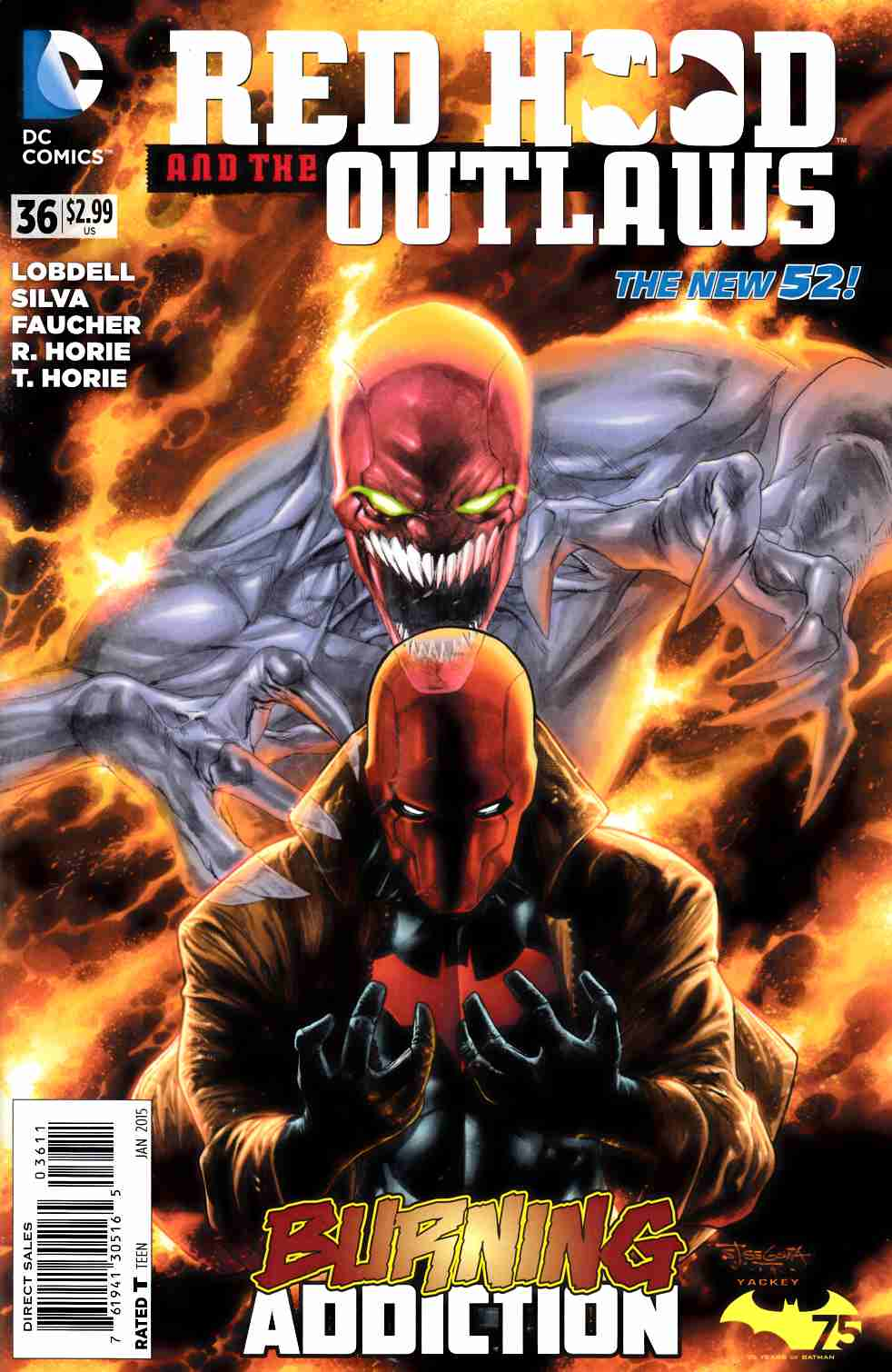 Red Hood and the Outlaws #36 [DC Comic] THUMBNAIL
