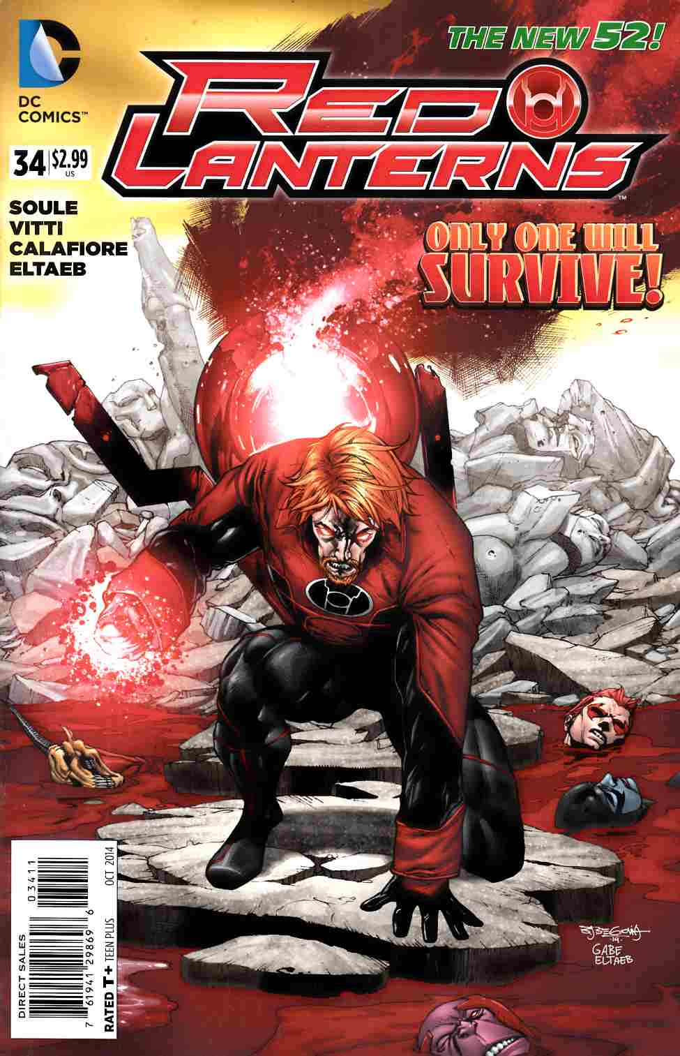 Red Lanterns #34 [DC Comic] THUMBNAIL