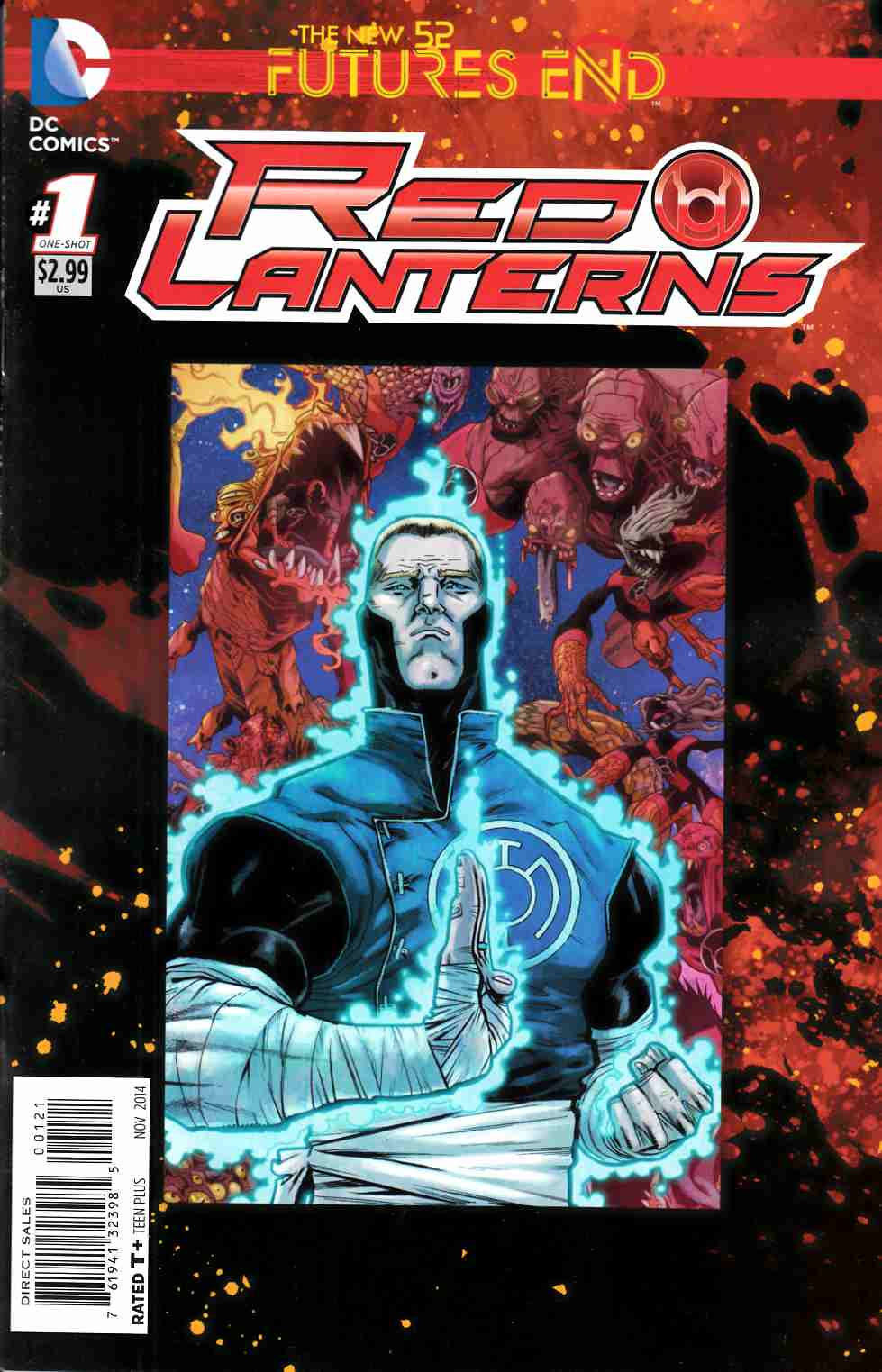 Red Lanterns Futures End #1 Standard Edition [Comic] THUMBNAIL