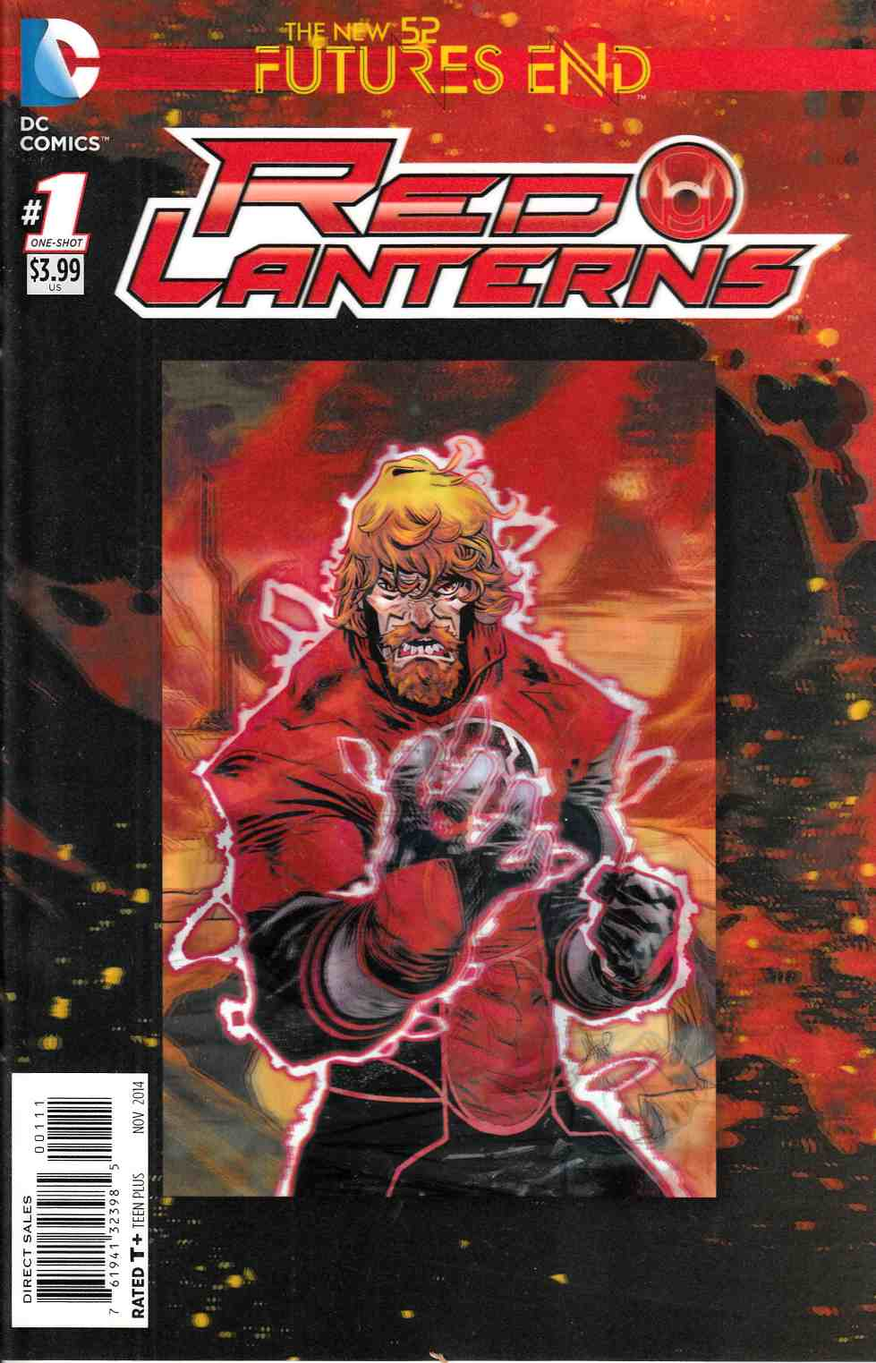 Red Lanterns Futures End #1 3D Edition [DC Comic] THUMBNAIL