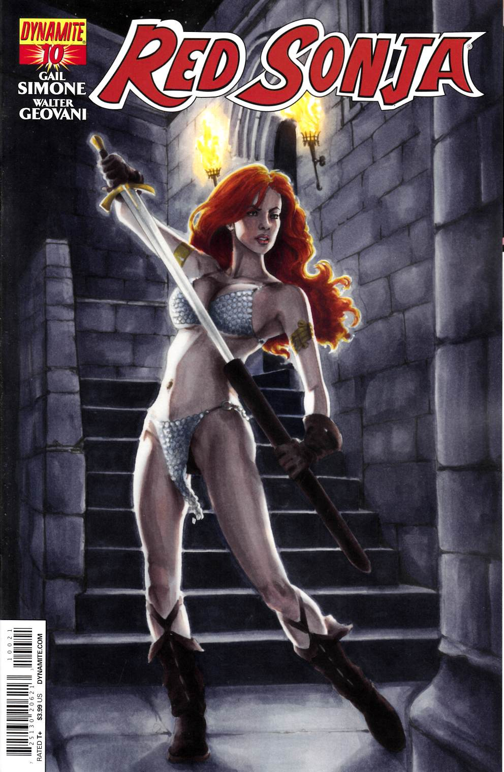 Red Sonja #10 Sohn Cover [Dynamite Comic]_THUMBNAIL