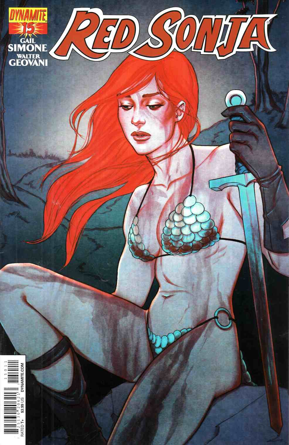 Red Sonja #15 Frison Cover [Dynamite Comic]_THUMBNAIL