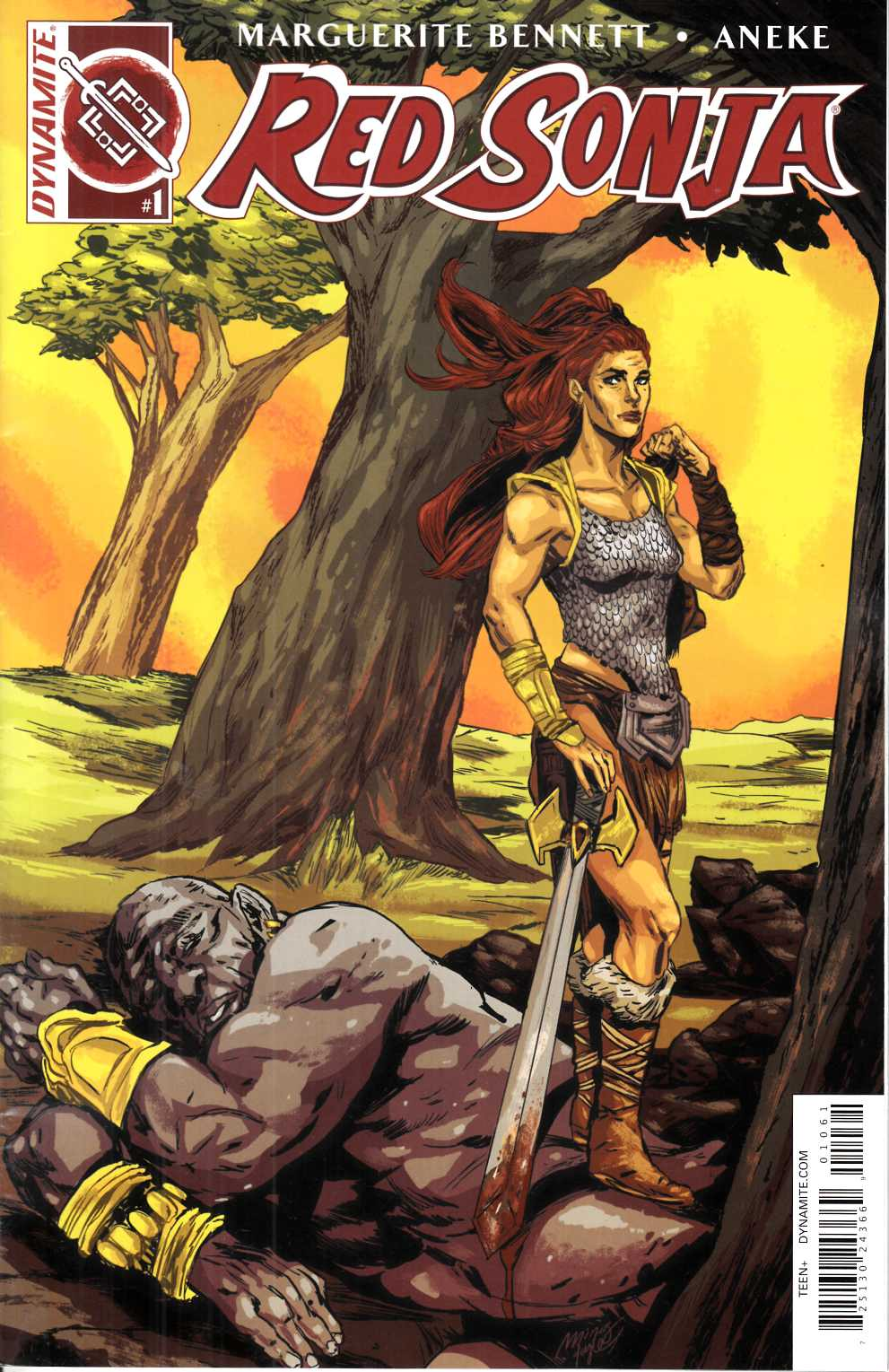 Red Sonja Volume 3 #1 Cover F- Doyle Incentive [Dynamite Comic]_THUMBNAIL