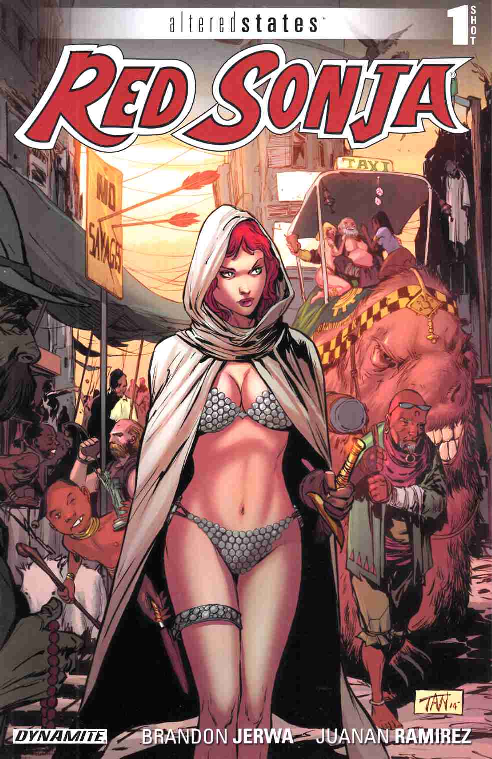 Altered States Red Sonja (One Shot) [Dynamite Comic]_THUMBNAIL
