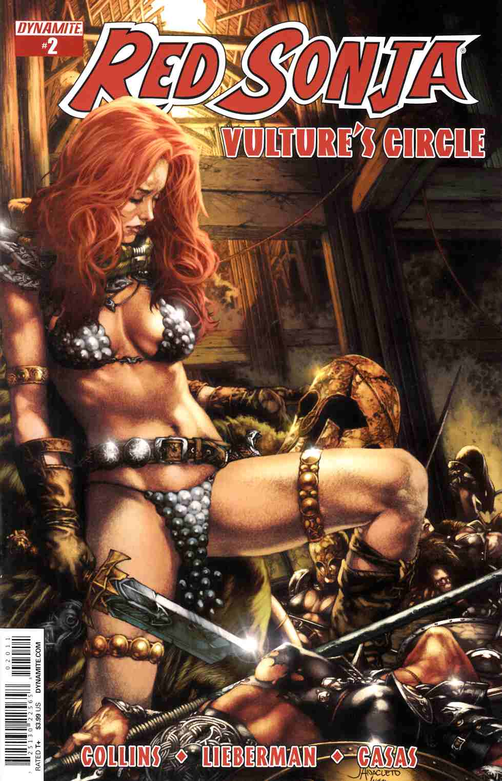 Red Sonja Vultures Circle #2 Cover A- Anacleto [Dynamite Comic]_THUMBNAIL