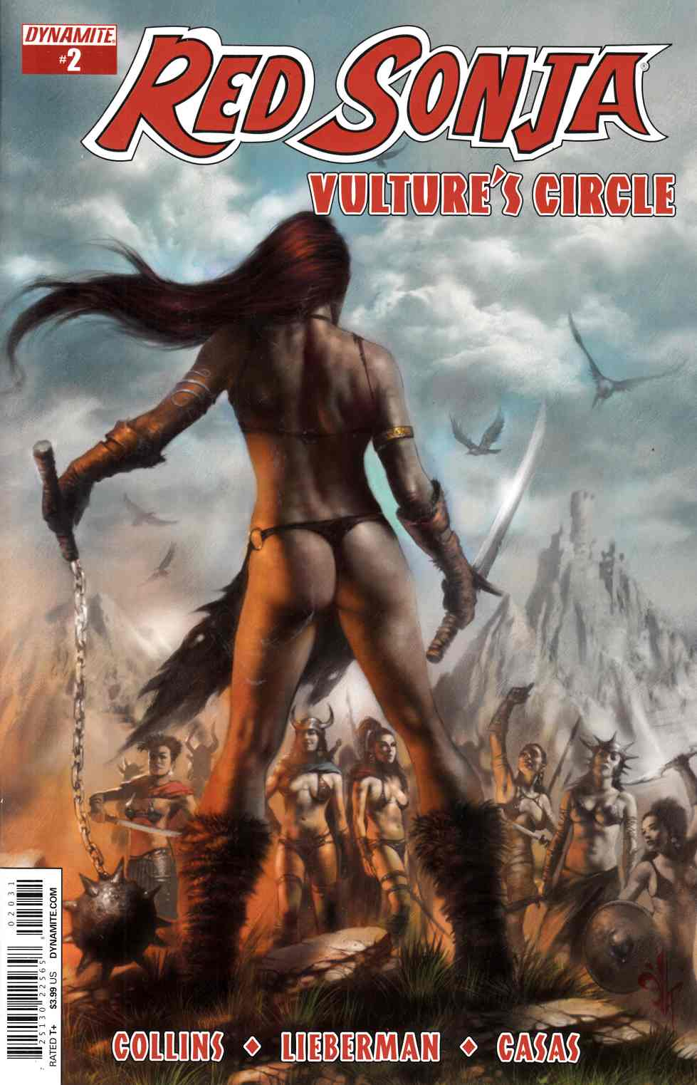 Red Sonja Vultures Circle #2 Cover C- Parrillo Subscription [Dynamite Comic]_THUMBNAIL