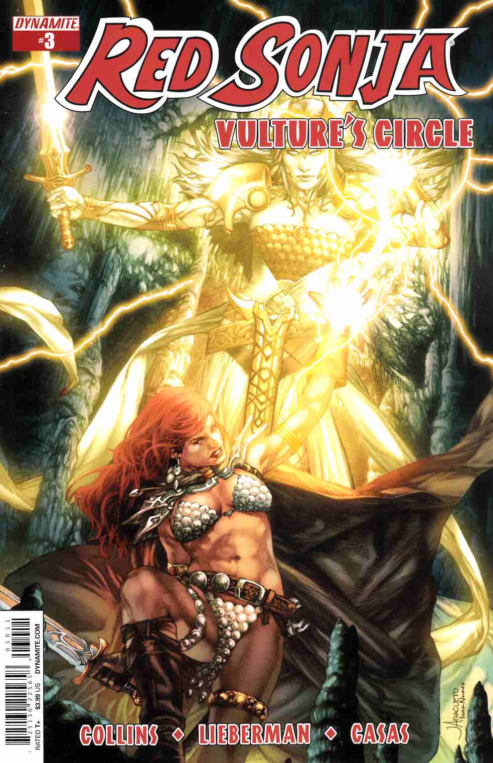 Red Sonja Vultures Circle #3 Cover A- Anacleto [Dynamite Comic]_THUMBNAIL