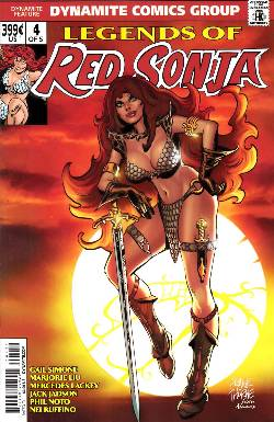 Legends of Red Sonja #4 Thorne Subscription Cover [Comic] LARGE