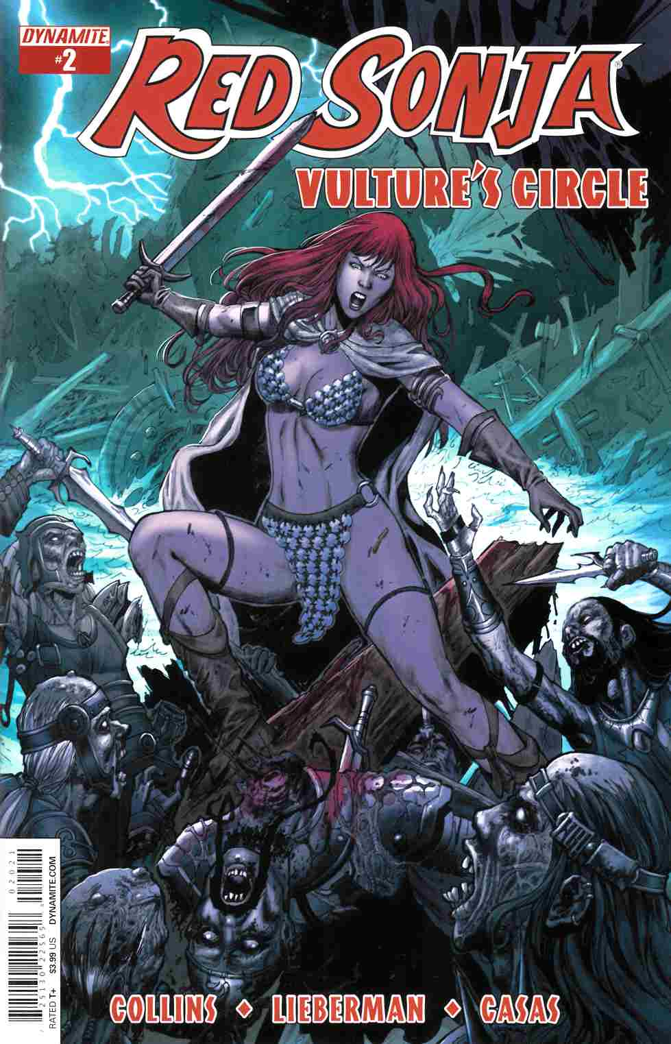 Red Sonja Vultures Circle #2 Cover B- Geovani [Dynamite Comic]_THUMBNAIL