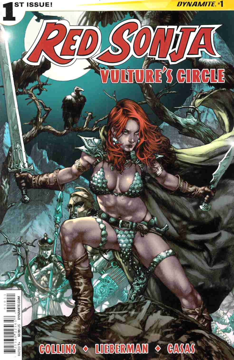 Red Sonja Vultures Circle #1 Cover A Anacleto [Dynamite Comic]_THUMBNAIL