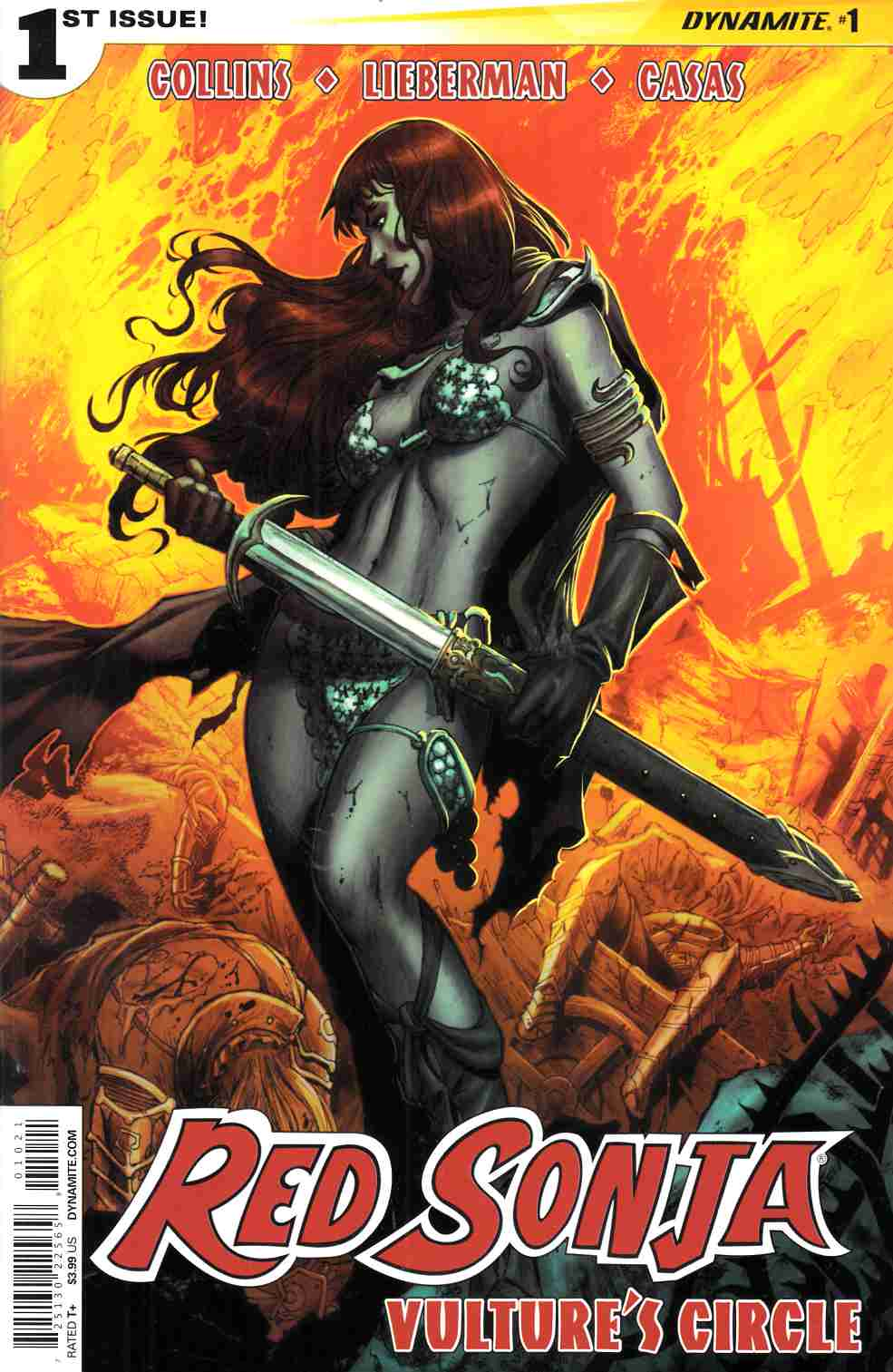 Red Sonja Vultures Circle #1 Cover B Geovani [Dynamite Comic]_THUMBNAIL