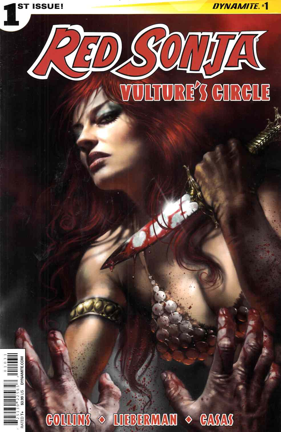Red Sonja Vultures Circle #1 Cover C- Parrillo Subscription [Dynamite Comic]_THUMBNAIL