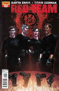 Garth Ennis Red Team #1 Chaykin Cover [Comic] LARGE