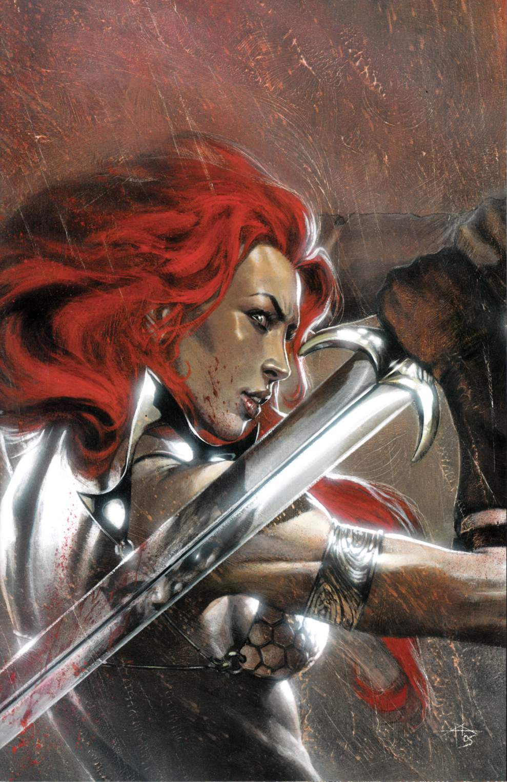Red Sonja vs Thulsa Doom #4 Dell'Otto Vigin Variant Cover [Dynamite Comic] THUMBNAIL