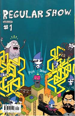 Regular Show #1 Cover A [Comic] LARGE