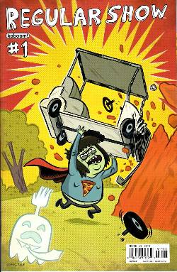 Regular Show #1 Cover F [Comic] LARGE