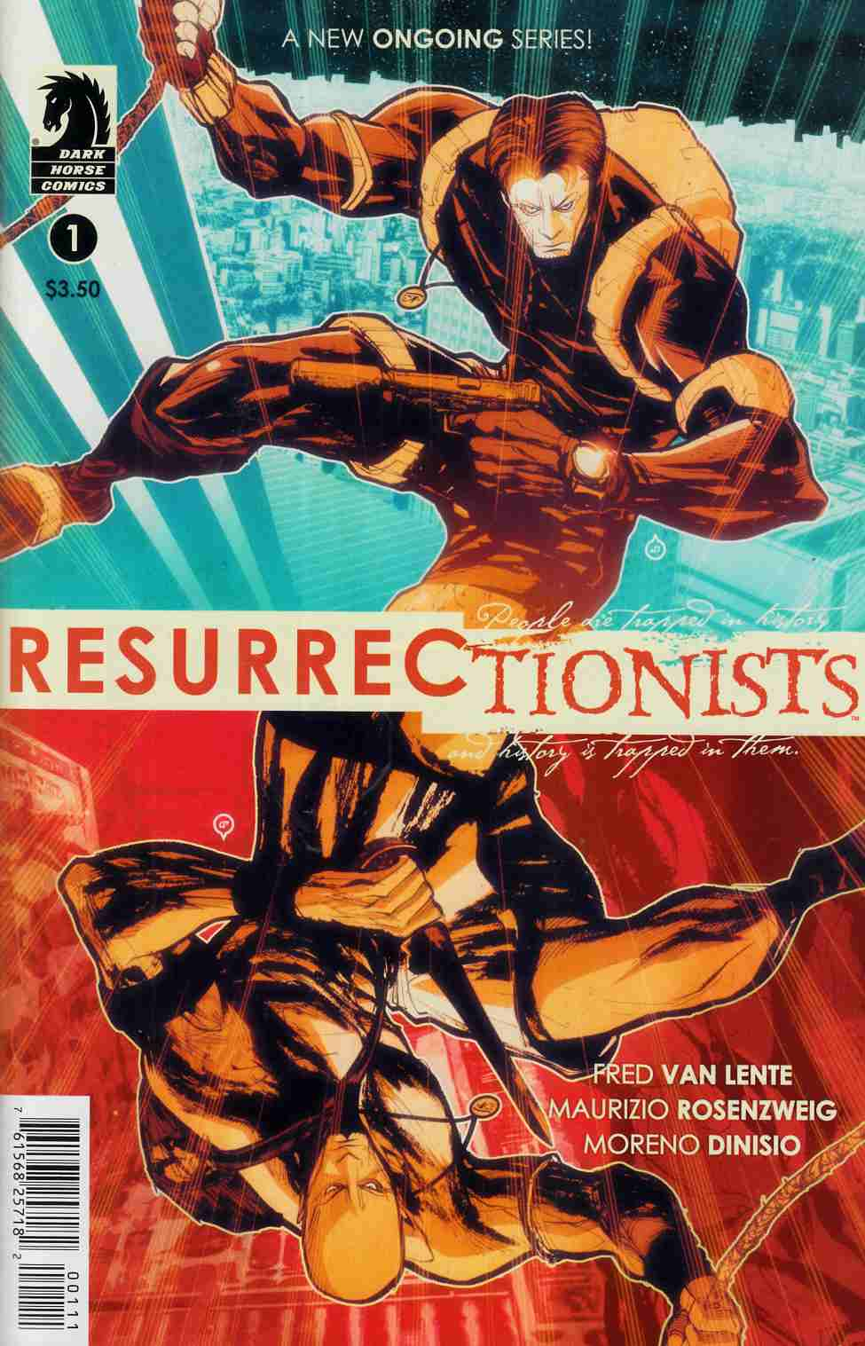 Resurrectionists #1 [Dark Horse Comic] THUMBNAIL